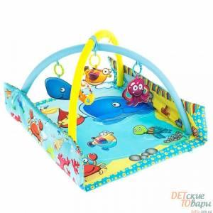 Детский развивающий коврик Mioobaby Океан