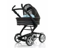 Детская коляска трансформер  ABC design 4 Tec  Aqua Dark Brown