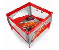 Детский манеж Baby Design Play Красный 02