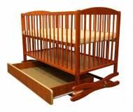 Детская кроватка Klups Radek (с ящиком) Тик