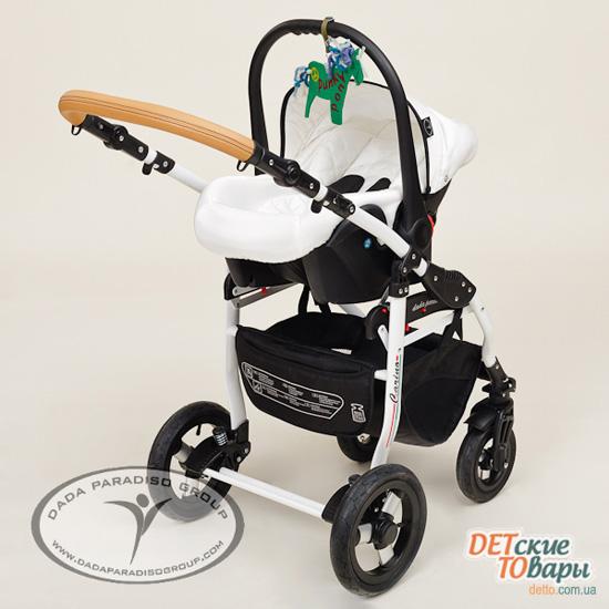 бзор детской универсальной коляски Dada Paradiso Group Carino